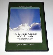 Life And Writings Of C.S. Lewis Teaching Company 6 CD Audio Set ~ Great Courses