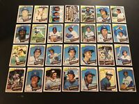 1980 Topps MILWAUKEE BREWERS Complete TEAM Set ROBIN YOUNT Paul MOLITOR Bando
