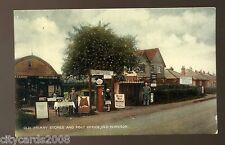 OLD WINDSOR Berkshire   Old Friary Stores and POST OFFICE animated   coloured