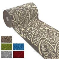Passatoia su misura al metro h 60 cm tappeto personalizzato antiscivolo bordato