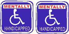 Mentally Handicapped sticker S-159