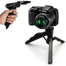 Pistol Grip stabilizzatore in fibra di carbonio Fotocamera TRACK Dolly SLIDER sistema ferroviario con 1