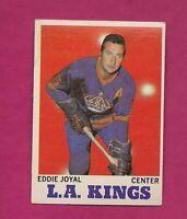 1970-71 TOPPS  # 39  LA KINGS EDDIE JOYAL EX-MT  CARD (INV# A3986)