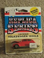 ERTL Die-cast Replica Series Volkswagen 1200LS Red #1896 1:64 Scale MOC 1981