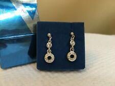 2008 Avon Deco Pave Pierced Earrings