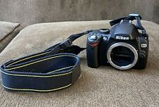 Nikon D60 DSLR Camera (Body Only) Shutter Count - 2,700