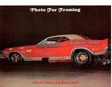 1970 HEMI CHALLENGER FUNNY CAR - CHARLIE ALLEN ~ ORIGINAL MAGAZINE PHOTO / AD