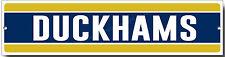 DUCKHAMS OILS METAL SIGN.GARAGE / WORKSHOP OIL SIGN.CLASSIC BRITISH OILS SIGN.