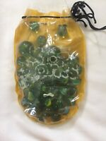 LOT of 57 Antique Vintage Marbles - Cats Eye - Transparent Swirls Early 60s