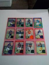 2016 Optic Pink Jersey (12) Card Lot Carson Wentz Paxton Lynch and More see pics