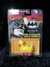 Vintage ERTL Die Cast Tim Burtons BATMAN Returns The Penguin's Duck Mobile New