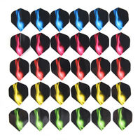 15//30pcs PVC Reflective Laser Dart Wing Set Darts Flights Nice Dart Flights Fad