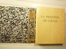 LA PRINCESSE DE CLEVES DE MME DE LAFAYETTE EAUX FORTES E DRIAN ED DEVAMBEZ 1929