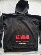 Diesel AC Milan Mens Hoody Special  Colection Black XL