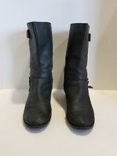 Cole Haan Womens Black Leather Boots Size 8.5 B