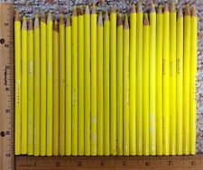 Lot of 28 Crayola Yellow Colored Coloring Pencils 5 Inches + Longer