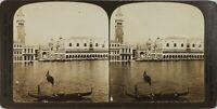 Italia Venezia, Palais Dei Doge E Torri, Foto Stereo Analogica PL60OYL5