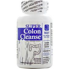 HEALTH PLUS - Super Colon Cleanse Night - 90 Capsules