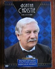 Agatha Christie DVD Collection Featuring Peter Ustinov as Hercule Poirot