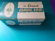 Vintage The Original Candle Vase, Inc. w/ Box, very good condition