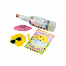 Tropical Invitations In A Bottle - Stationery - 1 Piece