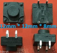 Tactile Push Button Tact Micro Switch Push Button 4-Pin - 12X12X8mm - V13