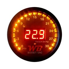 APSX B2 Digital Boost Display Gauge (Red)
