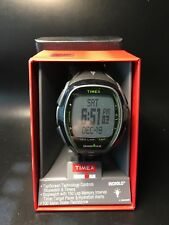 New Timex Ironman Sleek 150 Lap Digital Watch Black