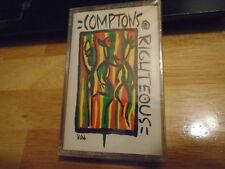 SEALED RARE OOP Comptons Righteous EP CASSETTE TAPE conscious hip hop RAP 1992 !