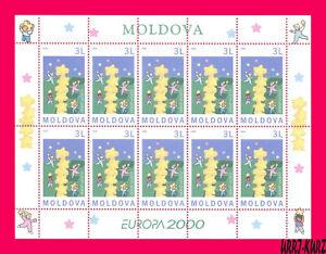 MOLDOVA 2000 Europa CEPT Stars Children m-s Sc355 Mi Klb.363 MNH