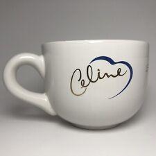 Rare! Vintage 1998 Celine Dion Let's Talk About Love World Tour Coffee Mug