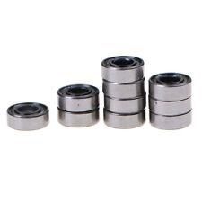 10x MR115ZZ Miniature Metal Shielded Rubber Sealed Bearing Model 5 x 11 x 4mm JK