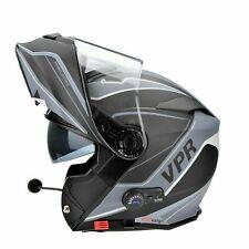 VIPER RSV171 ZONE BLUETOOTH FLIP UP MOTORCYCLE CRASH HELMET DVS PINLOCK SIZE SML