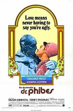 FILM RIPRODUZIONE abominible DR PHIBES POSTER STAMPA A3 THIS A POSTER