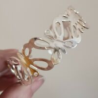 Gorgeous  Modernist  Sterling Silver  Butterfly Cuff Bangle  GGL Sheffield