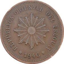 Republica Oriental Del Uruguay 5 Centésimos 1946 KM#21a Chile Mint (4578)