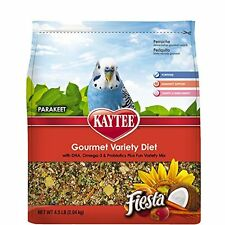 Kaytee Fiesta Bird Food For Parakeets, 4-1/2-Pound Bag