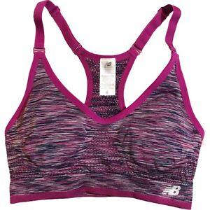 Balance Sports Bra Size S Small Purple Racerback Yoga Gym Training Run Workout