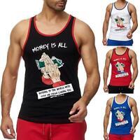 Redbridge Herren Tank Top Money Love T-Shirt Tshirts Sommershirt Muskelshirt NEU