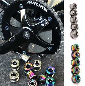Single Speed Fixie Track Bike Chainring Bolts Alloy Chainset MTB Road Bicycle
