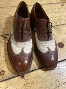 Vintage neolite Goodyear Shoes 1950s Mens Size 9 comes with shoe stretcher