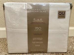 Wamsutta Dream Zone 750-Thread-Count PimaCott Queen Sheet Set in Solid White