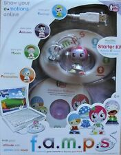 Girl Teck F.A.M.P.S CREATIVE Mac/Pc Starter Kit Software Custom Charm New