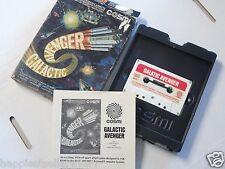 Atari Computer 400 800 XL XE Galactic Avenger Video Game Computer System
