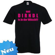 """FUN T-Shirt """"Dirndl in dr Wäsch"""" Wasen Wiesn Oktoberfest Frühlingsfest"""