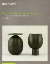 BONHAMS Contemp Ceramics Coper Godfrey Leach Rie Ward