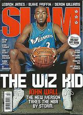 **GFA Washington Wizards *JOHN WALL* Signed Slam Magazine COA**