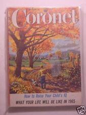 CORONET October 1955 JUNE ALLYSON OSCAR BERGER ORAL ROBERTS CONNIE MACK