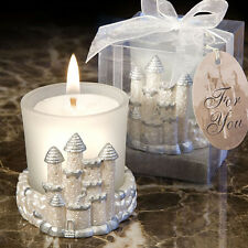50 Cinderella Castle Candle Fairy Tale Sweet Sixteen Bridal Wedding Favor Lot