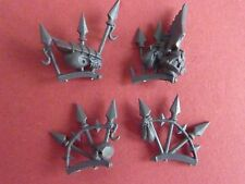 Chaos Space Marine TERMINATOR LORD SET OF TROPHY RACKS - Bits 40K